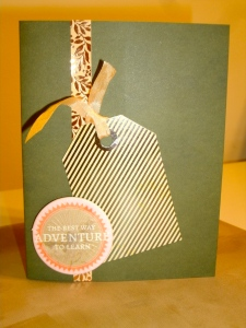 Advenure Card front