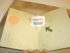Birthday Pop up