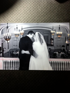 This is a photo tinted with Distress Markers.  It is a photo from my wedding take by Victoria Stanbridge.