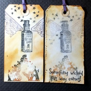 Smudge Stamping,