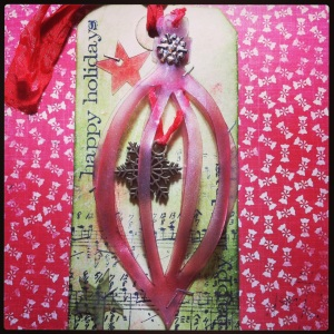 Tag of December 2013 Tim Holtz inspired